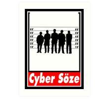 Cyber Söze Art Print