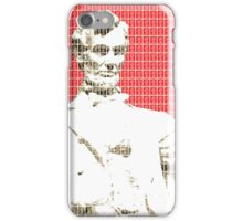 Lincoln Memorial - Red iPhone Case/Skin