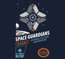RETRO SPACE GUARDIANS by DREWWISE