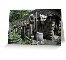 All Hung Up! Greeting Card
