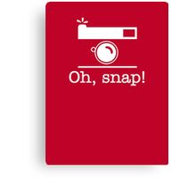 Oh, Snap! Canvas Print