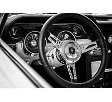 Ford Mustang - TRA0111 Photographic Print