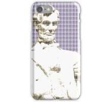 Lincoln memorial - Violet iPhone Case/Skin