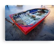 Forgotten Dinghy Canvas Print