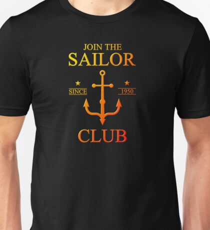 Colorful Sailor Unisex T-Shirt