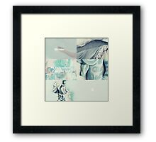we each survive in our own way Framed Print