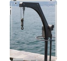 berthing for ships iPad Case/Skin