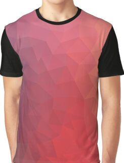 Pattern Red Purple Cool Graphic T-Shirt