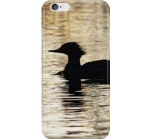 Silhouette on the water iPhone Case/Skin