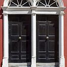 two arched georgian doors by morrbyte