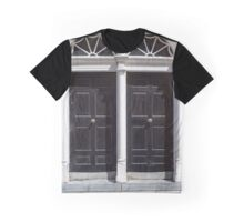 two arched georgian doors Graphic T-Shirt