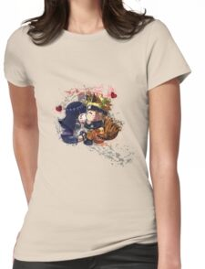 NaruHina Womens Fitted T-Shirt