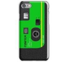 Disposable Camera - Green iPhone Case/Skin