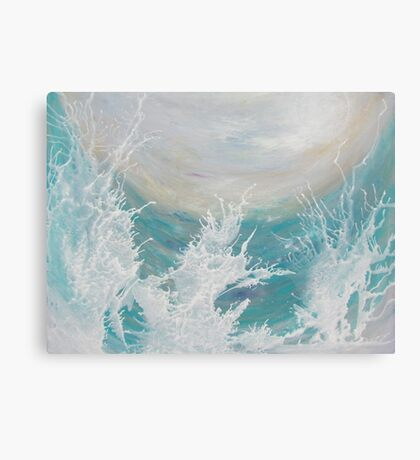 Ocean Play Canvas Print