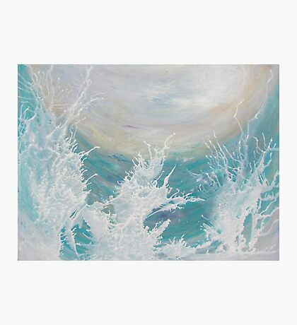 Ocean Play Photographic Print