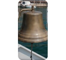 bell on the boat iPhone Case/Skin
