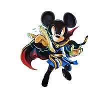 Doctor Strange - Mickey Mouse Photographic Print