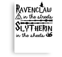 Ravenclaw in the streets Canvas Print