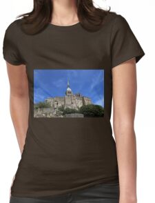 Mont Saint-Michel, France Womens Fitted T-Shirt