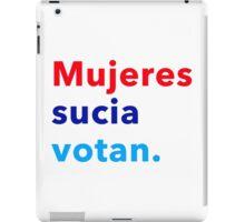 Mujeres sucia votan iPad Case/Skin