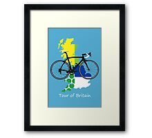 Tour of Britain Framed Print