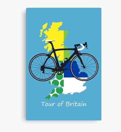 Tour of Britain Canvas Print