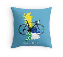 Tour of Britain Throw Pillow