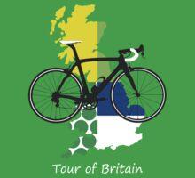 Tour of Britain Baby Tee
