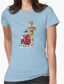 The Bots You're Looking For Womens Fitted T-Shirt