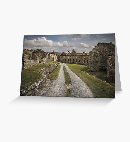 Road to Ruin Greeting Card