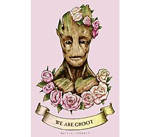 We are Groot...  Photographic Print