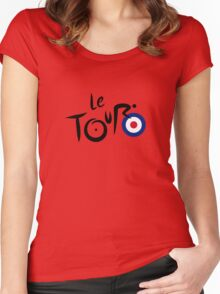 Le Tour de Britain Women's Fitted Scoop T-Shirt