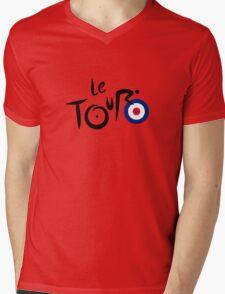 Le Tour de Britain Mens V-Neck T-Shirt
