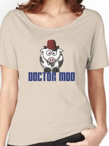Doctor moo- Fez Women's Relaxed Fit T-Shirt