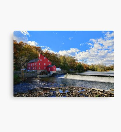 Historic Old Red  Canvas Print