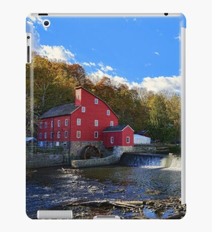 Historic Old Red  iPad Case/Skin