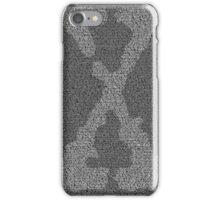 The X-Files Pilot Script - White iPhone Case/Skin