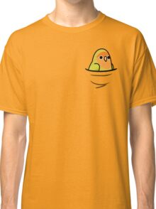 Too Many Birds! - Orange-Faced Yellow Lovebird Classic T-Shirt