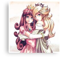 Shokora & Rosalina Canvas Print