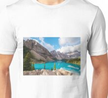 Moraine Lake Banff National Park Unisex T-Shirt