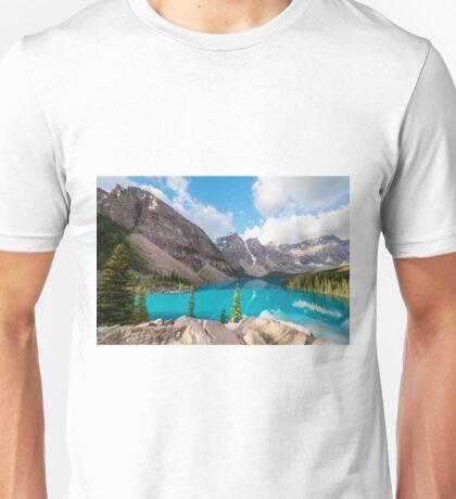 Moraine Lake Banff National Park Unisex T-Shirt