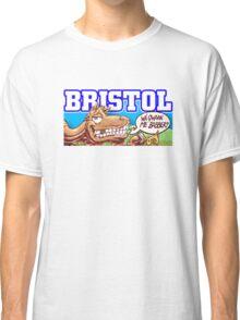Bristol City culture grafitti   Classic T-Shirt