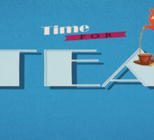 Time for Tea Sticker