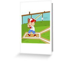 Non Olympic Sports: Baseball Greeting Card