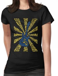 Guitar Vibrations Womens Fitted T-Shirt
