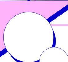 Pastel Moon Travels Sticker