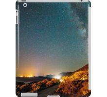 Milky way in the sky of Croatia iPad Case/Skin