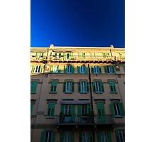 sunset in Trieste Photographic Print