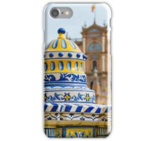 Plaza de Espana iPhone Case/Skin