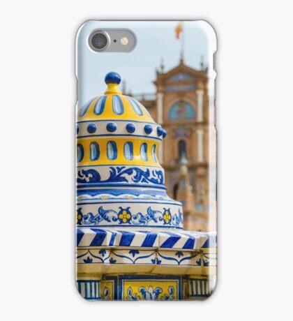Plaza de Espana iPhone Case/Skin